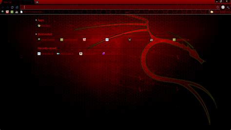 Backtrack Google Chrome Theme by strychnine8301 on DeviantArt