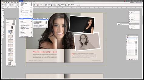 Tutorial Premium Magazine Template For Adobe Indesign Youtube Adobe Indesign Templates
