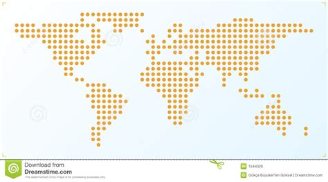 world dot map world map royalty free stock image image 1544326