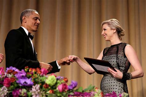 carol lee white house correspondent barack obama s last laugh at white house correspondents dinner emirates 24 7
