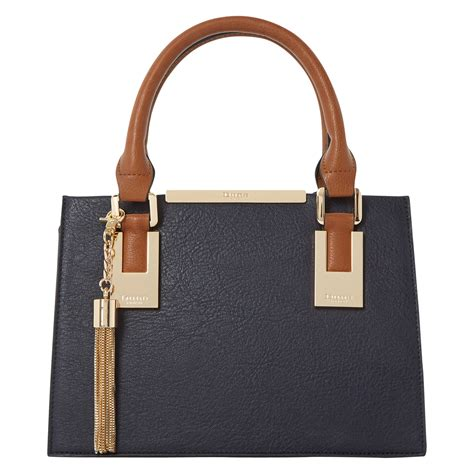 Small Dune Handbag by Lyst Dune Dinideedee Mini Gusset Grab Bag In Blue