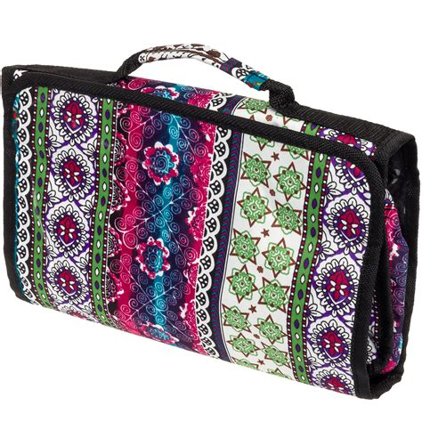 Roll N Go Cosmetic Bag Make Up Organizer Travel Mate s cosmetic bag hanging travel roll up make up