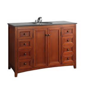 shop simpli home yorkville warm cinnamon brown undermount
