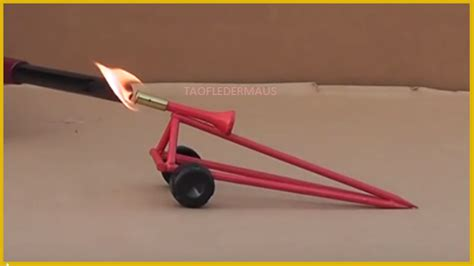 How To Make A Mini Cannon Out Of Paper - simple and daring cannon project yet