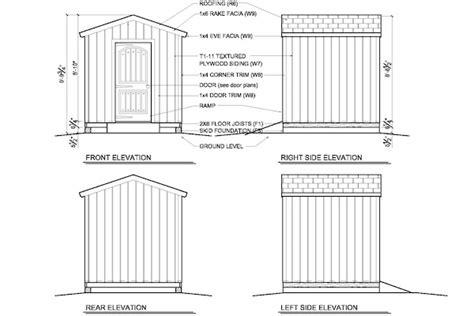 shed plans  straightforward ways
