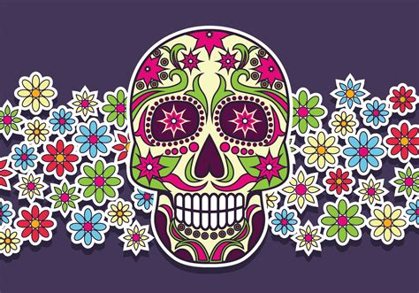 day of the dead background day of the dead background free vector