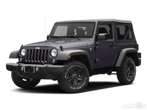 suv jeep black 2017 jeep wrangler gray suv willys wheeler top black
