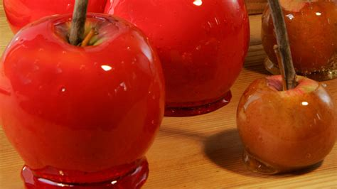 candy apples recipe video martha stewart