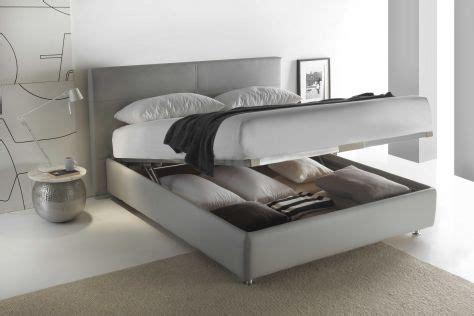letto contenitore in pelle letto in pelle brianza letti santambrogio