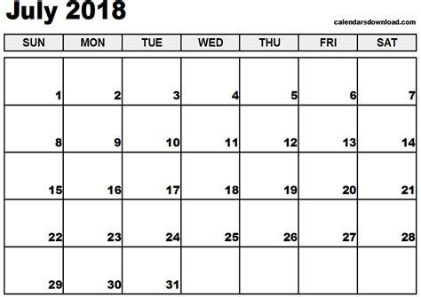 free windows calendar template 2018 desktop wallpapers calendar july 2018 183