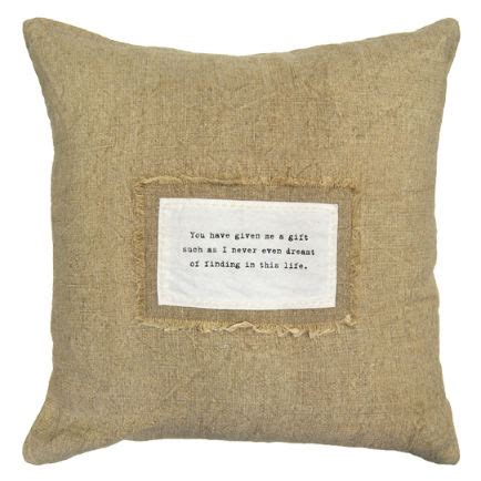 Sugarboo Designs Pillows by 24 Quot X 24 Quot You Given Me Patch Pillow By Sugarboo Designs