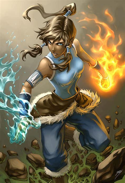legend of fan korra bend avatar the legend of korra fan avatar