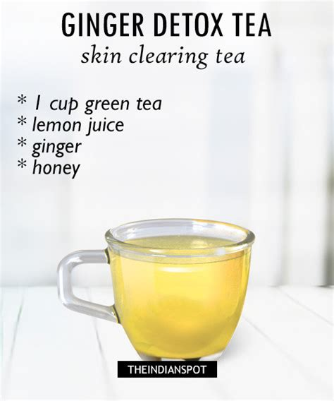 How To Make Lemon Detox Tea by Morning Detox Tea Recipes For Healthy And Glowing Skin