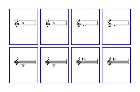 printable music note value flash cards 679 violin notes seotoolnet com