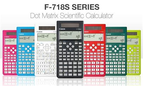 Calculator Canon F 718s Series Canon Scientific Calculator F 718s C End 1 8 2015 3 15 Pm