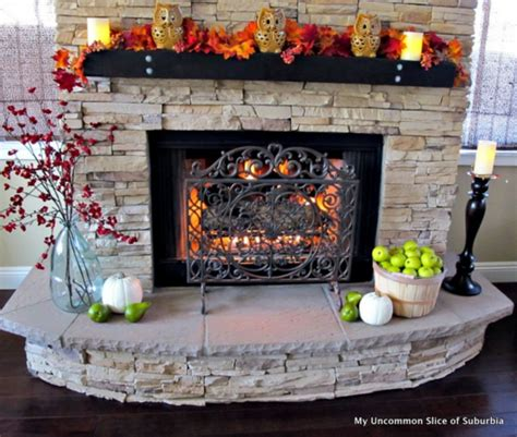 Supérieur Decoration D Une Terrasse #2: Photo-decoration-déco-pour-une-cheminée-8.jpg
