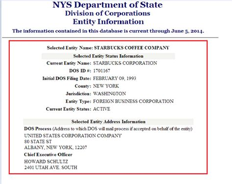 texas secretary of state corporations section new york ny secretary of state business entity search