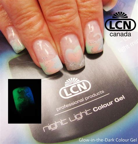 night light nails prices 16 best lcn gel nails glow in the dark nail art images