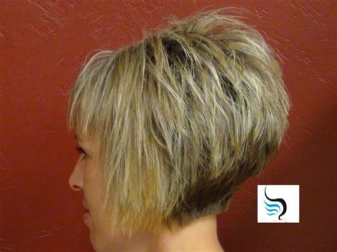 short stacked wedge for fine thinning hair image result for stacked bob for thin hair hair