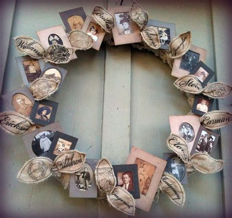 *Jennuine by Rook No. 17*: Family Tree Wreath Tutorial ...