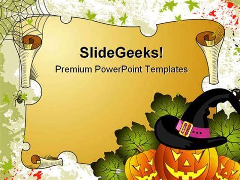 halloween powerpoint themes powerpoint template halloween gallery powerpoint