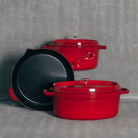 Kitchen Canisters Red by Staub Cherry Red Cookware Collection Relish Decor