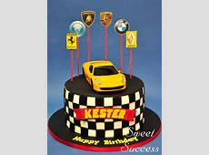 Formula 1 / Racing Cars | SweetSuccess Ideas For Decorating A Cake For Christmas