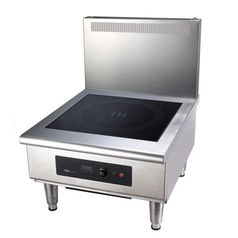 commercial induction units dipo tck112 a fl floor model commercial induction stock pot unit w 1 burner 10 kw 208 240v 3ph