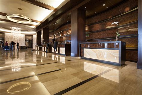 hotel reception desk omni nashville hotel forms surfaces