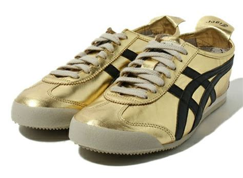 Asics Onitsuka Tiger Mexico 66 White Gold onitsuka tiger mexico 66 silver and gold white rabbit