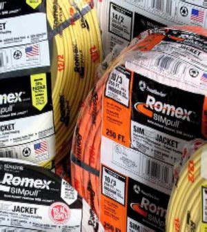 tip of the day romex color coded wire on the house