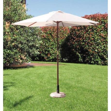 ombrellone da giardino brico ombrellone bianco 250 cm in legno per giardino brico casa