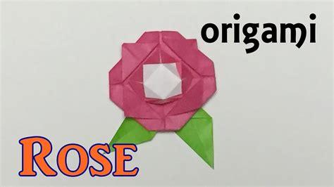 origami rose tutorial davor vinko how to make a paper rose origami rose tutorial easy for