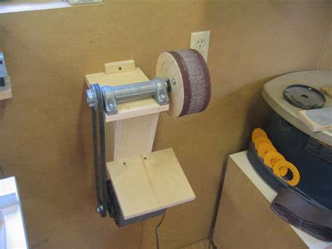 pneumatic drum sander  andy boxes  bearpaw