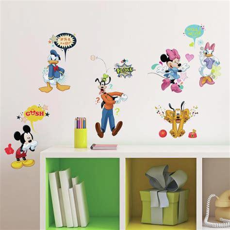 mickey mouse wall sticker mickey mouse venner pakke wallsticker fra kun 187 kr