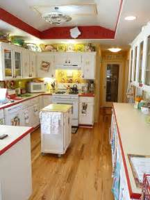 Yellow And Red Kitchens Lora S Vintage Style Kitchen Makeover Inspired By A