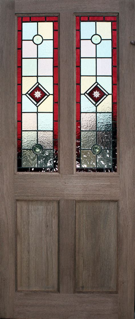 Leaded Glass Exterior Doors Budget Stained Glass Doors
