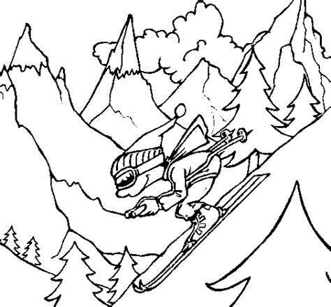 Disegno Sciatore Colorato Da Utente Non Registrato Il 04 Coloriage De Ski Doo L