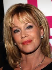 hairstyles for heavy in their 40s melanie griffith in antonio banderas receives the gabi