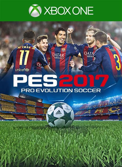 Xbox One Original Pes 2017 pes 2017 pro evolution soccer 2016 xbox one box cover mobygames