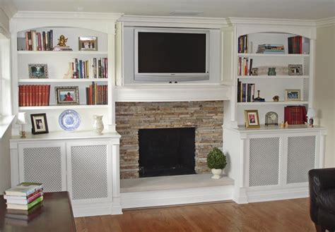 Built In Shelves Around Fireplace Built In Bookcases Built In Bookshelves Around Tv