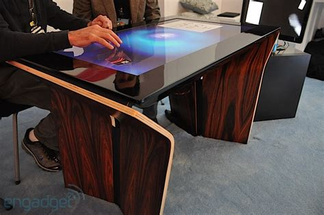 Surface Table by Info Space Samsung Surface Sur40 Multi Touch Table