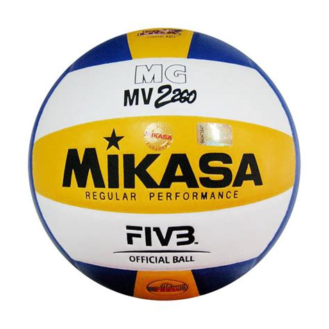 Bola Voli Mikasa 2200 Supergold jual mikasa mg mv 2200 bola voli harga kualitas