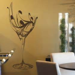 wine glass wall sticker decal art transfer big removable graphic dogwood branch mural in fused glass tiles designer glass mosaics