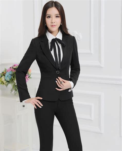 Setelan Wanita Kerja Kantor Resmi Formal Inner Blazer Celana Panjang wanita setelan bisnis promotion shop for promotional