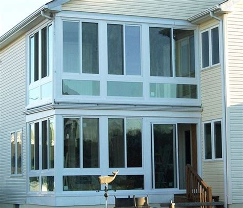 Two Story Sunroom two story sunroom ideas care free sunrooms