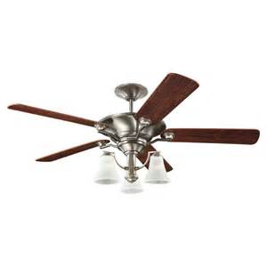 Ceiling Fans 52 Sea Gull Lighting 52 Inch Indoor Antique Brushed Nickel