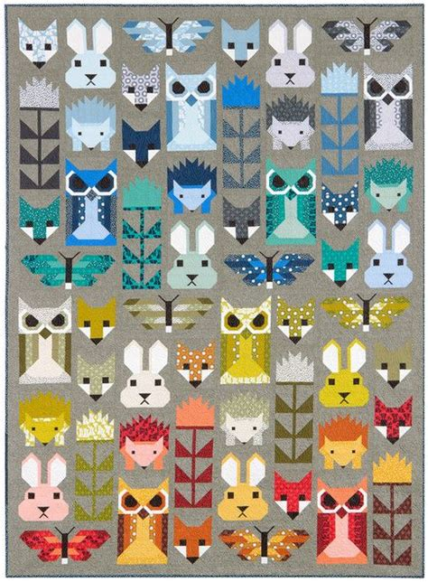 Animal Patchwork Quilt Patterns - 25 unique animal quilts ideas on elizabeth