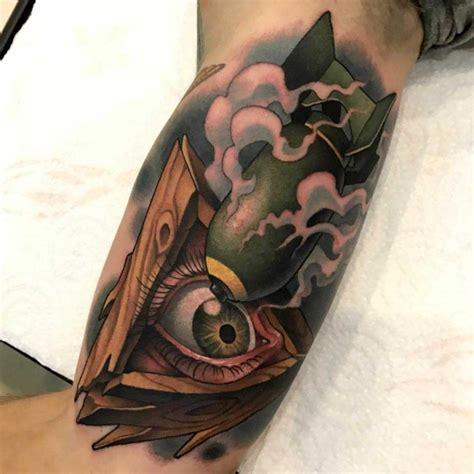 new school grenade tattoo new school war tattoo on bicep best tattoo ideas gallery