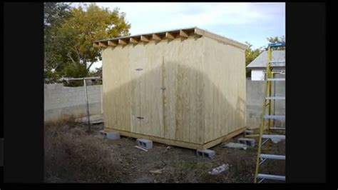 Flat Shed Roof Construction by Flat Roof Shed Designs Images